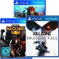 Killzone: Shadow Fall + Knack + inFamous Second Son